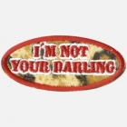 Nášivka Wildcat® Fashion I'm Not Your Darling -nas12-